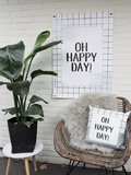 Tuinposter | Oh happy day!_