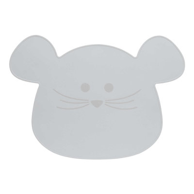 Placemat | Little chums Mouse Grey
