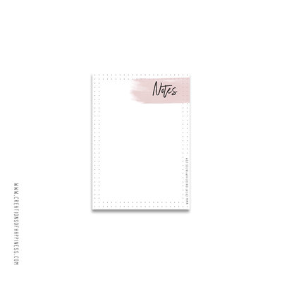 Notitieblok | Notes | Roze | A6